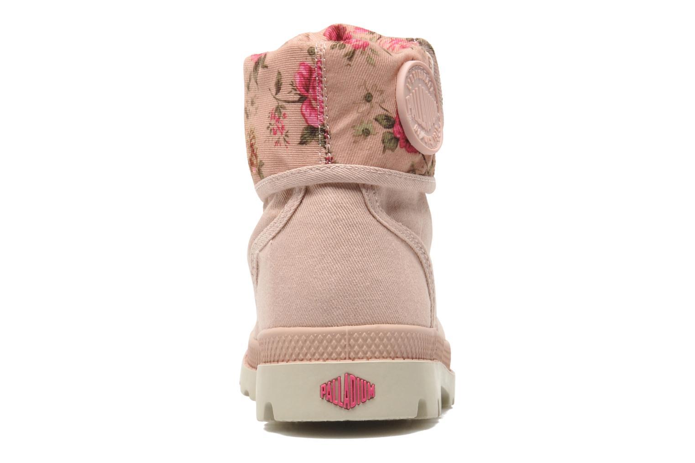 Bottines et boots Palladium Baggy Twl K Rose vue droite