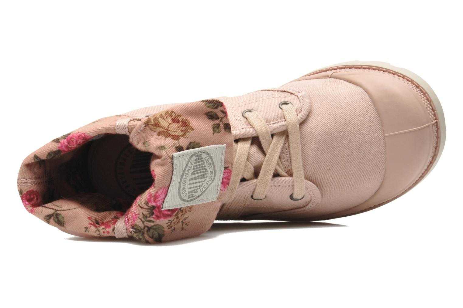 Ankle boots Palladium Baggy Twl K Pink view from the left