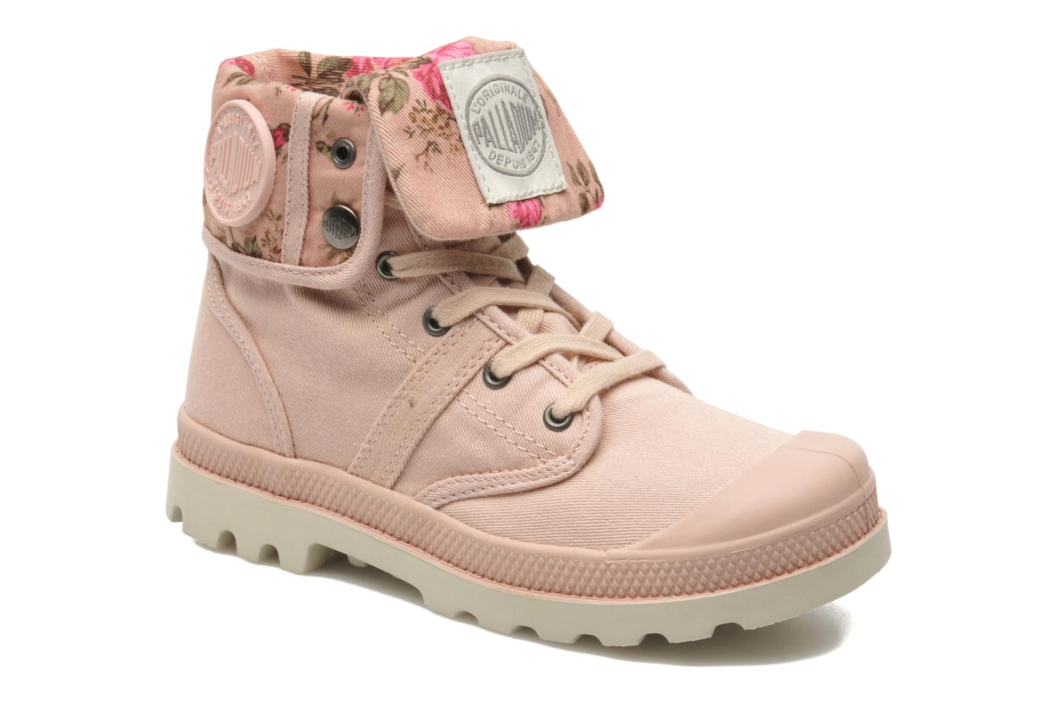 Ankle boots Palladium Baggy Twl K Pink detailed view/ Pair view