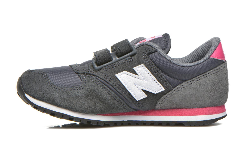 Sneaker New Balance KE420 J grau ansicht von vorne