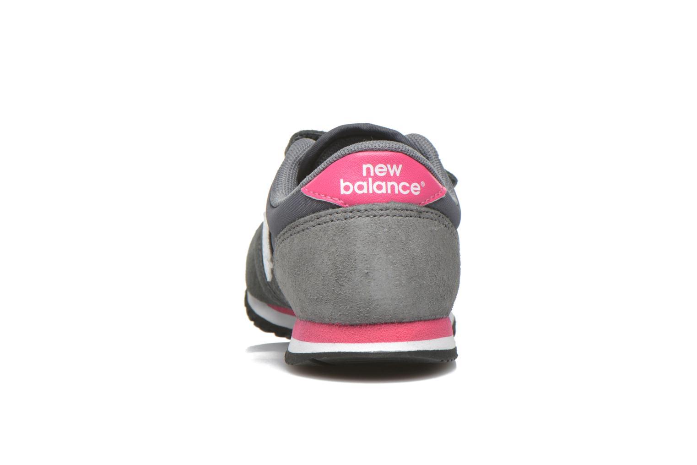 Sneaker New Balance KE420 J grau ansicht von rechts