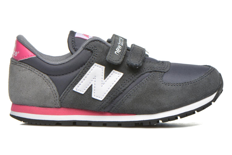 Sneaker New Balance KE420 J grau ansicht von hinten