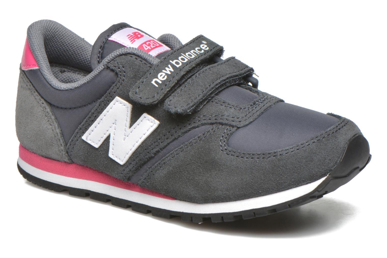 Sneaker New Balance KE420 J grau detaillierte ansicht/modell