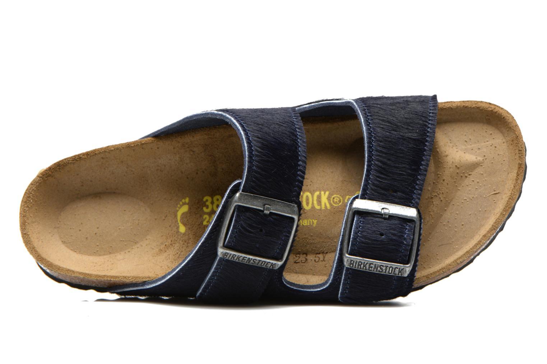 Mules et sabots Birkenstock Arizona Textile W Bleu vue gauche