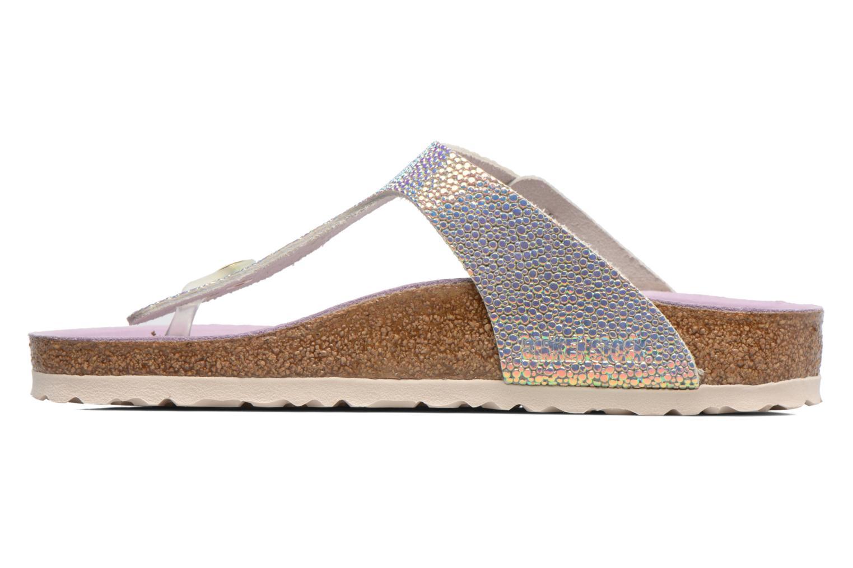 Sandals Birkenstock Gizeh Cuir W Grey front view
