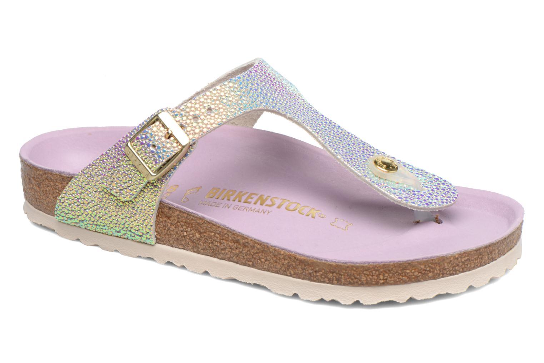 Zapatos casuales salvajes Birkenstock Gizeh Cuir W (Gris) - Zuecos en Más cómodo
