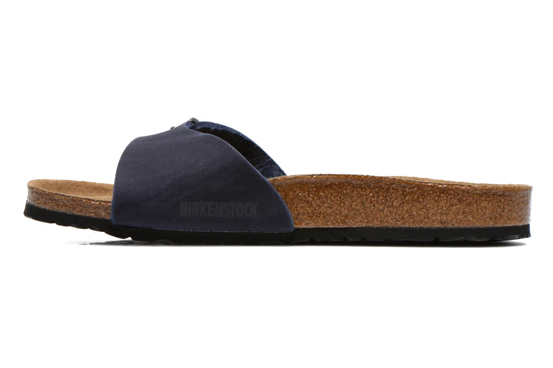 Sandali e scarpe aperte Birkenstock Madrid Microfibre M Azzurro immagine frontale