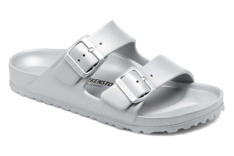 Marques Chaussure femme Birkenstock femme Arizona EVA W Metallic Silver