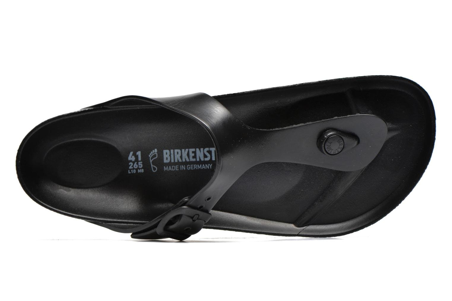Flip flops Birkenstock Gizeh EVA M Black view from the left