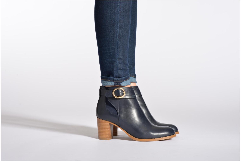 Stiefeletten & Boots Georgia Rose Eperdrix beige ansicht von unten / tasche getragen