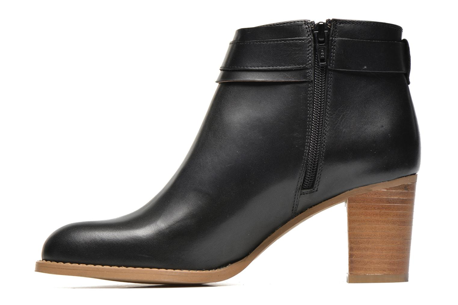 Ankle boots Georgia Rose Eperdrix Black front view