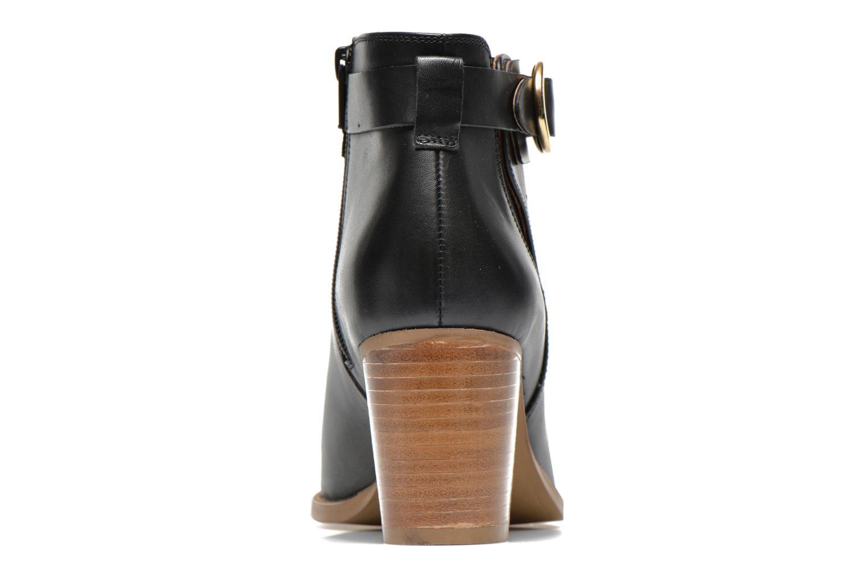 Bottines et boots Georgia Rose Eperdrix Noir vue droite
