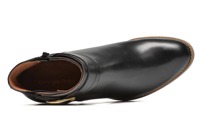 Bottines et boots Georgia Rose Eperdrix Noir vue gauche