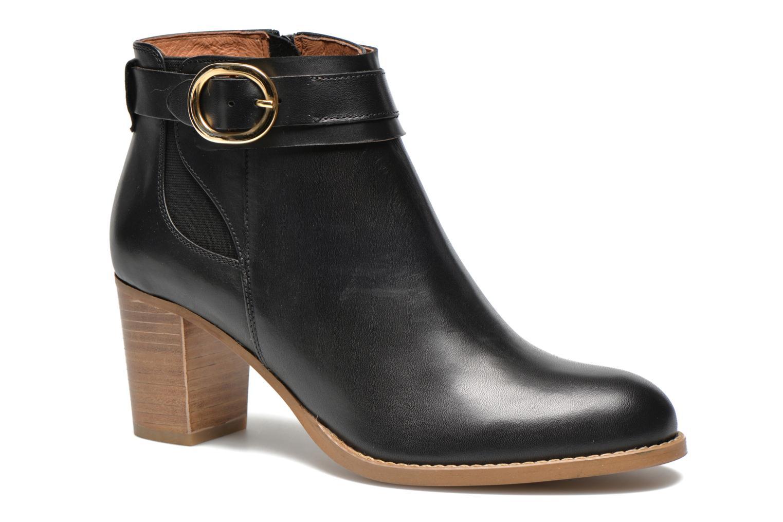 Bottines et boots Georgia Rose Eperdrix Noir vue détail/paire