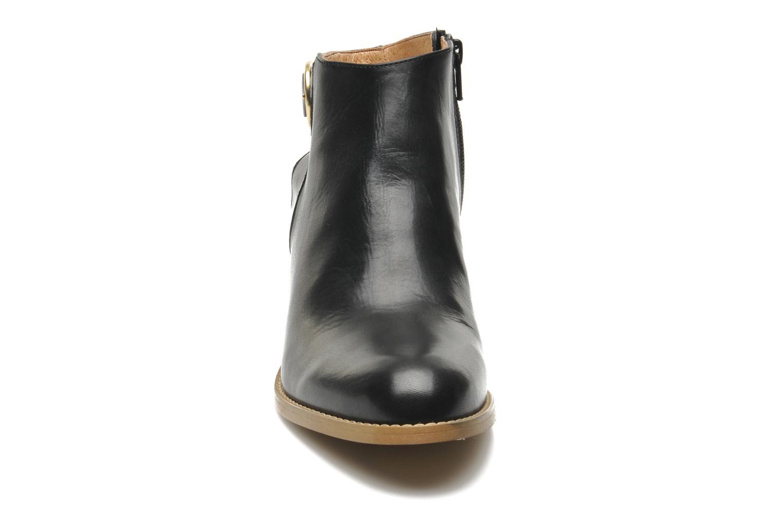 Bottines et boots Georgia Rose Efaisan Noir vue portées chaussures