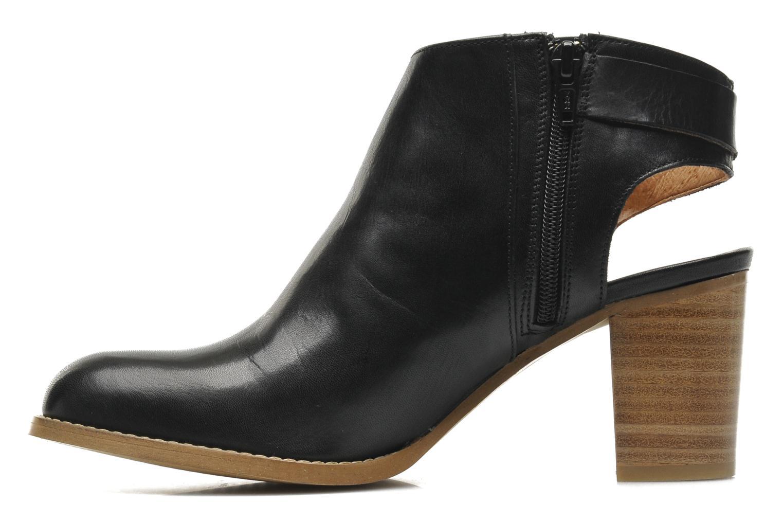 Bottines et boots Georgia Rose Efaisan Noir vue face