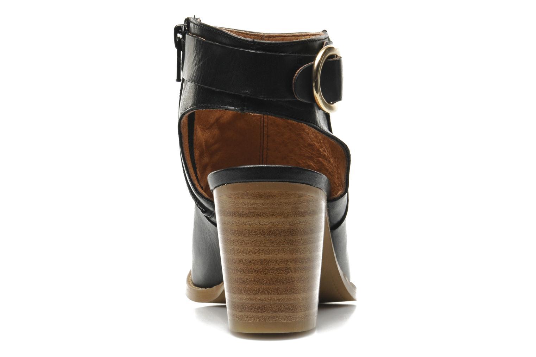 Bottines et boots Georgia Rose Efaisan Noir vue droite