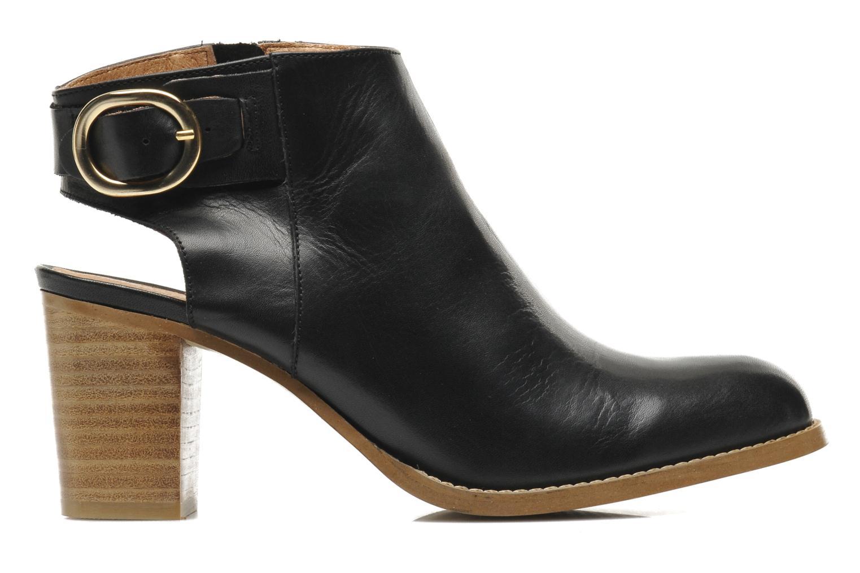 Bottines et boots Georgia Rose Efaisan Noir vue derrière