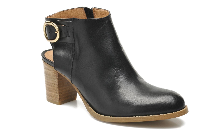 Bottines et boots Georgia Rose Efaisan Noir vue détail/paire