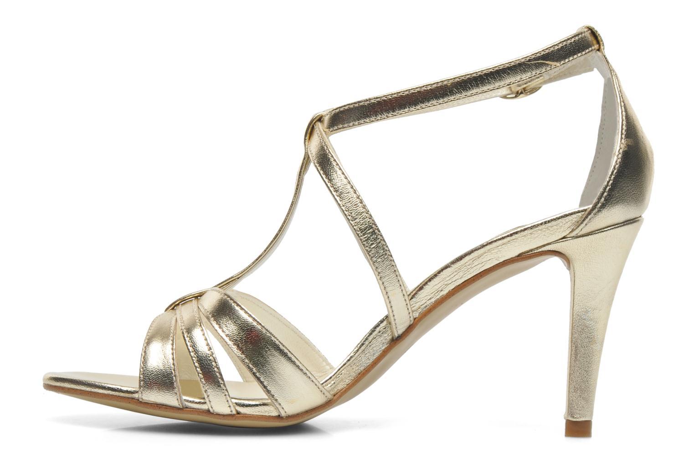 Sandales et nu-pieds Georgia Rose Epurée Or et bronze vue face