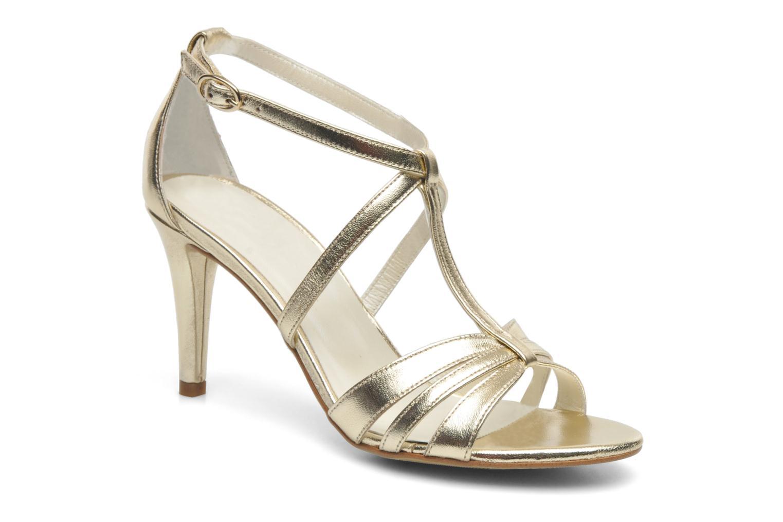 Sandales et nu-pieds Georgia Rose Epurée Or et bronze vue détail/paire