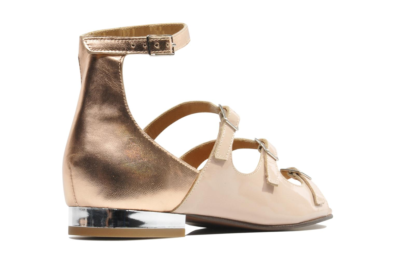 Sandales et nu-pieds Made by SARENZA Chamallow #4 Beige vue face