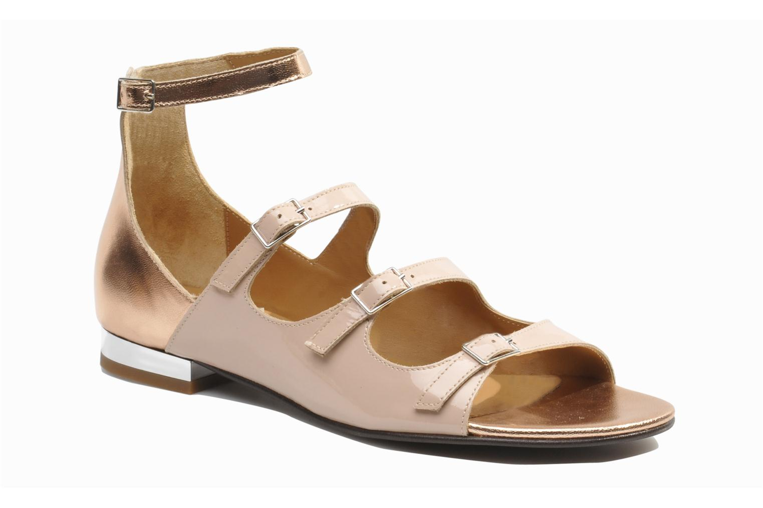 Sandalias Made by SARENZA Chamallow #4 Beige vista lateral derecha