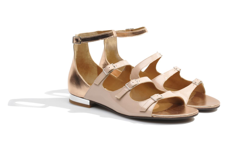 Sandales et nu-pieds Made by SARENZA Chamallow #4 Beige vue derrière
