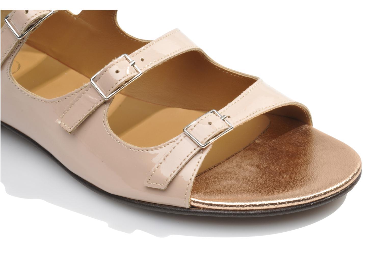 Sandales et nu-pieds Made by SARENZA Chamallow #4 Beige vue haut