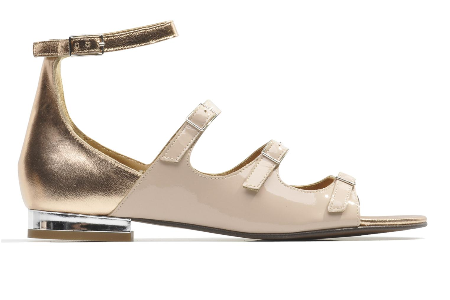 Sandals Made by SARENZA Chamallow #4 Beige detailed view/ Pair view