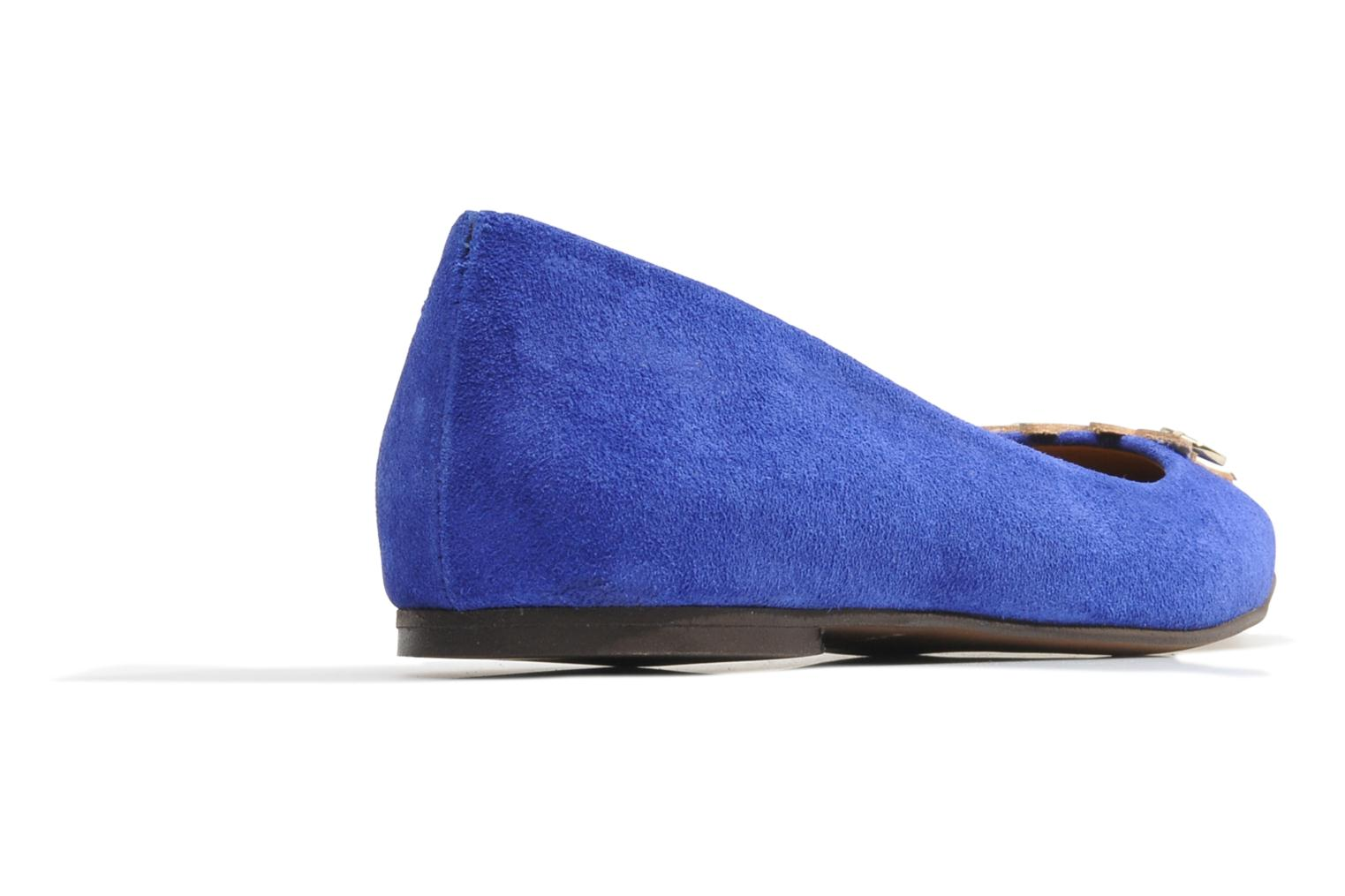 Ballet pumps Made by SARENZA Cape Town #10 Blue front view