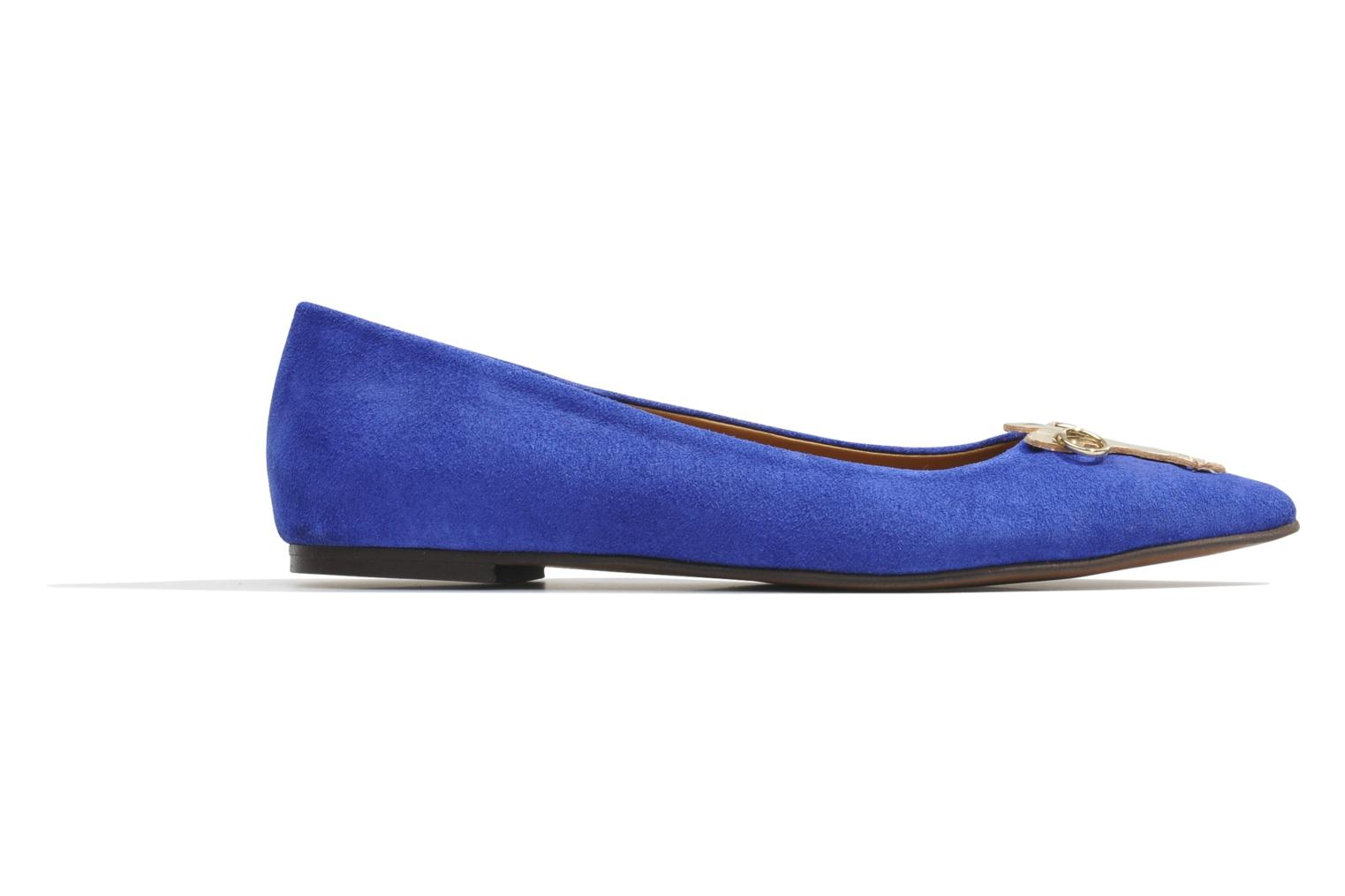 Ballet pumps Made by SARENZA Cape Town #10 Blue view from the right
