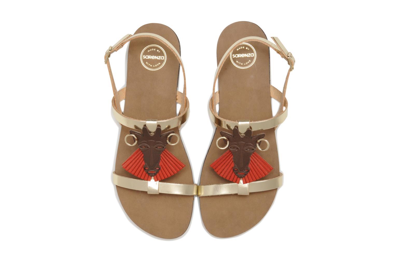 Sandales et nu-pieds Made by SARENZA Nairobi #5 Multicolore vue portées chaussures