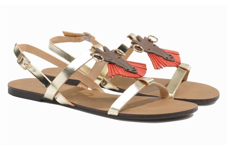 Sandales et nu-pieds Made by SARENZA Nairobi #5 Multicolore vue derrière