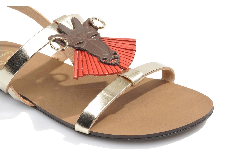Sandales et nu-pieds Made by SARENZA Nairobi #5 Multicolore vue haut