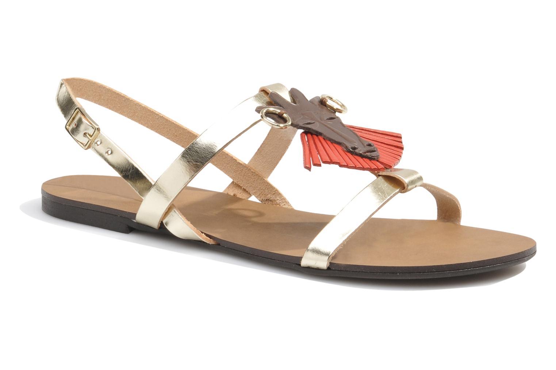 Sandales et nu-pieds Made by SARENZA Nairobi #5 Multicolore vue détail/paire