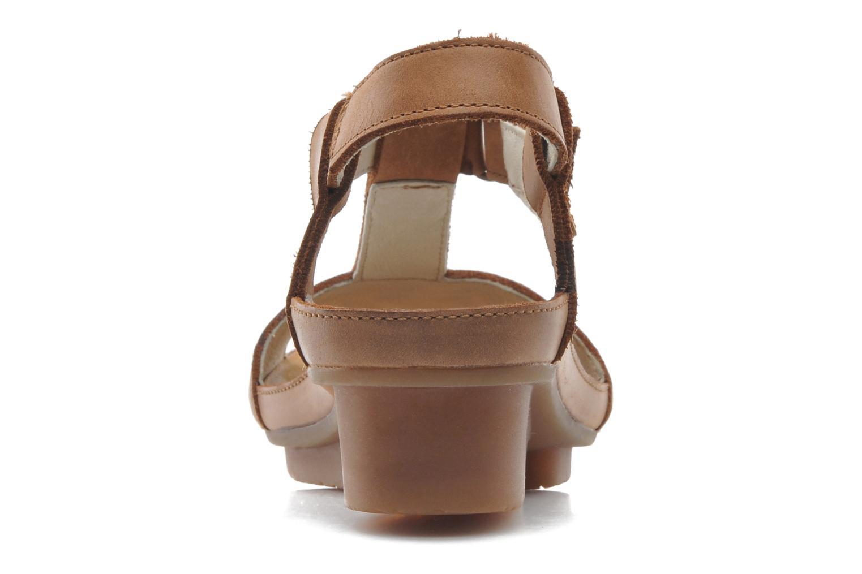 Sandales et nu-pieds El Naturalista Code ND21 Marron vue droite