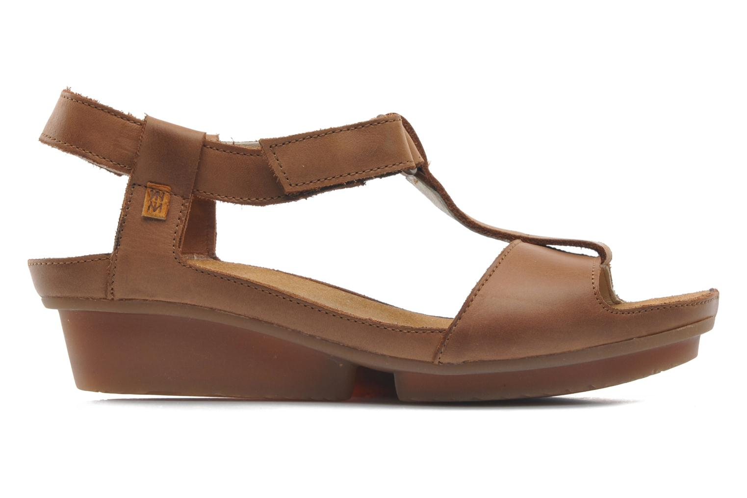 Sandals El Naturalista Code ND21 Brown back view