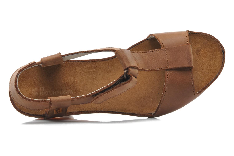 Sandales et nu-pieds El Naturalista Code ND21 Marron vue gauche