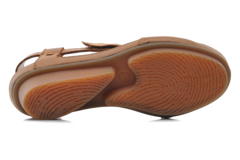 Sandales et nu-pieds El Naturalista Code ND21 Marron vue haut