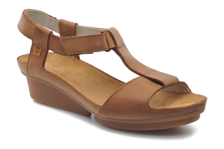 Sandales et nu-pieds El Naturalista Code ND21 Marron vue détail/paire