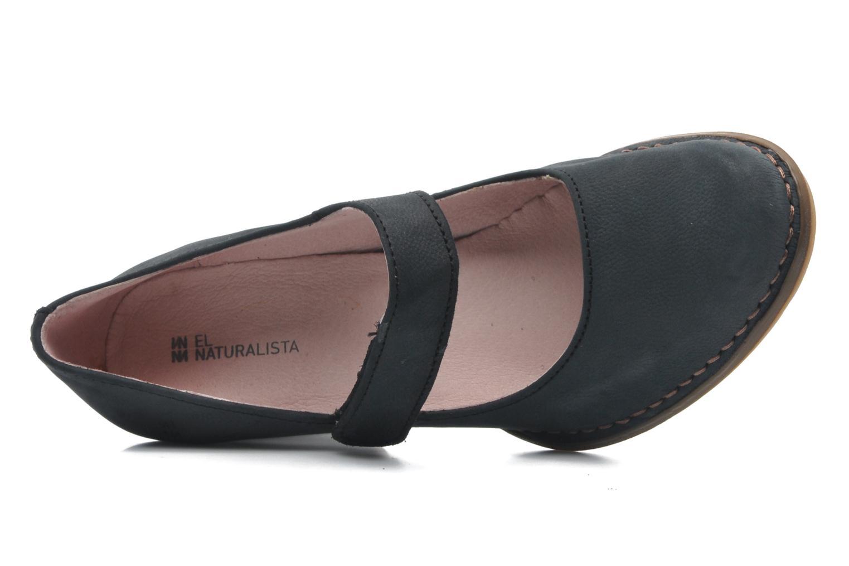 Zapatos de tacón El Naturalista Colibri N466 Negro vista lateral izquierda