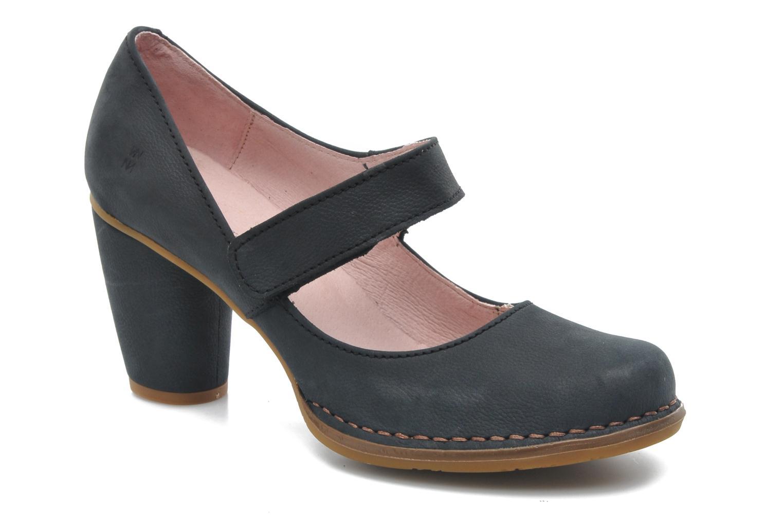 Zapatos de tacón El Naturalista Colibri N466 Negro vista de detalle / par