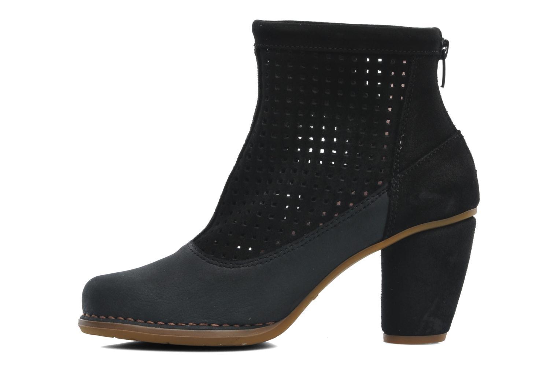 Ankle boots El Naturalista Colibri N467 Black front view