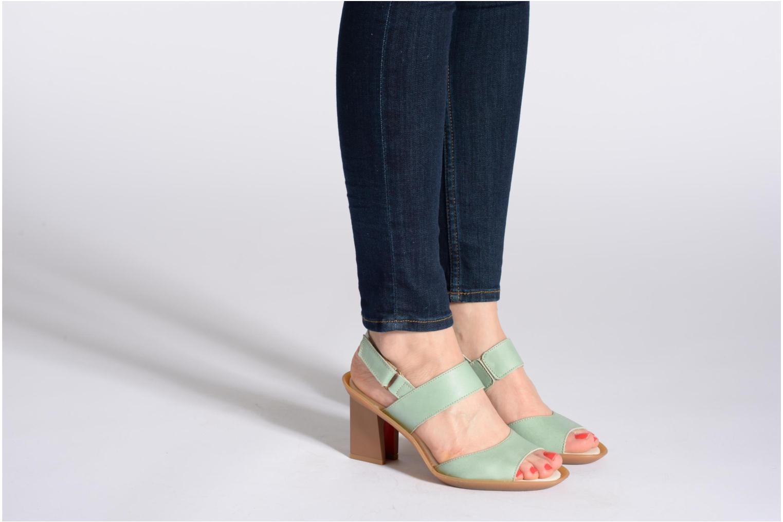 Sandales et nu-pieds El Naturalista Haiku ND10 Vert vue bas / vue portée sac