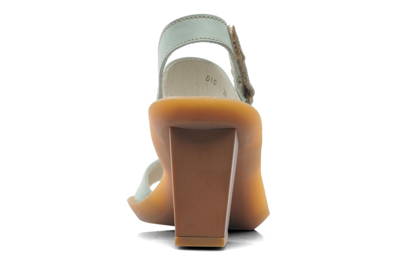 Sandales et nu-pieds El Naturalista Haiku ND10 Vert vue droite