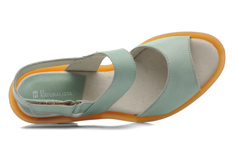 Sandales et nu-pieds El Naturalista Haiku ND10 Vert vue gauche