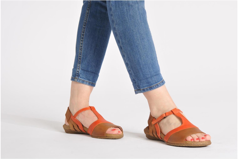 Sandales et nu-pieds El Naturalista Wakataua N448 Multicolore vue bas / vue portée sac