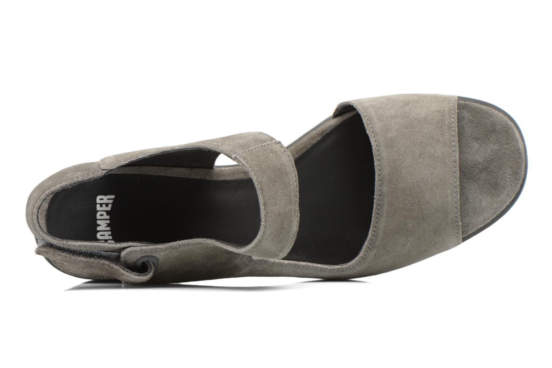 Sandales et nu-pieds Camper Maude 22527 Gris vue gauche