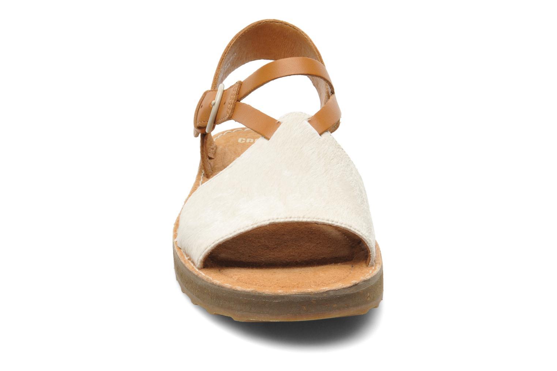 Sandales et nu-pieds Camper PimPom 22519 Marron vue portées chaussures